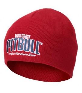 Czapka zimowa Pit Bull model Pacific czerwona