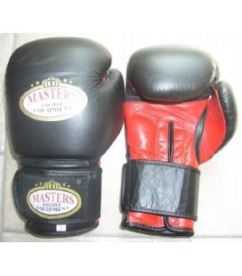 Rękawice bokserskie skóra naturalna MASTERS RBT-301