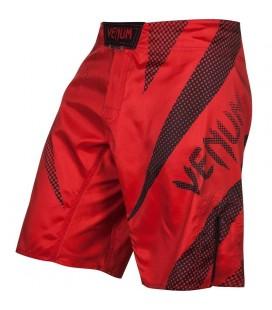 Spodenki Venum model Jaws czerwono czarne