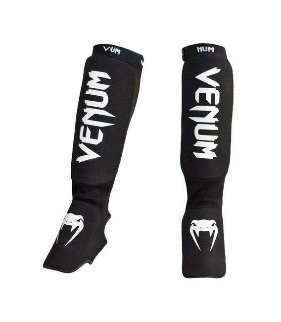 Ochraniacze piszczeli i stopy, elastyczne Venum Kontact  czarne