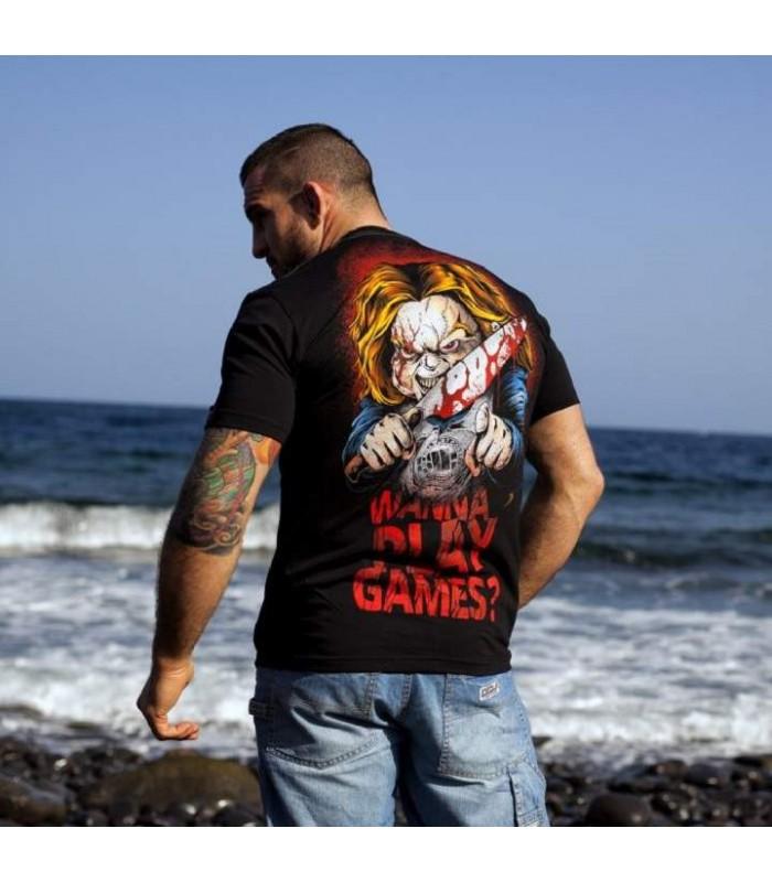 53a4c7f10ffb Koszulka Laleczka Chucky Pit Bull West Coast model Wanna Play Games 17