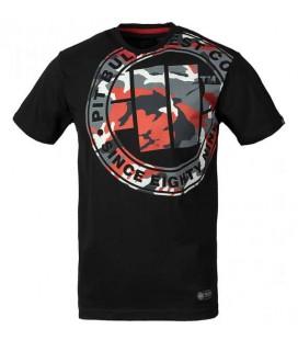 Koszulka Pit Bull West Coast model Urban Camo  czarna