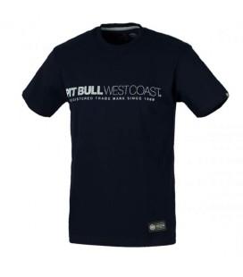 Koszulka Pit Bull West Coast model Iron Plate ciemny granat