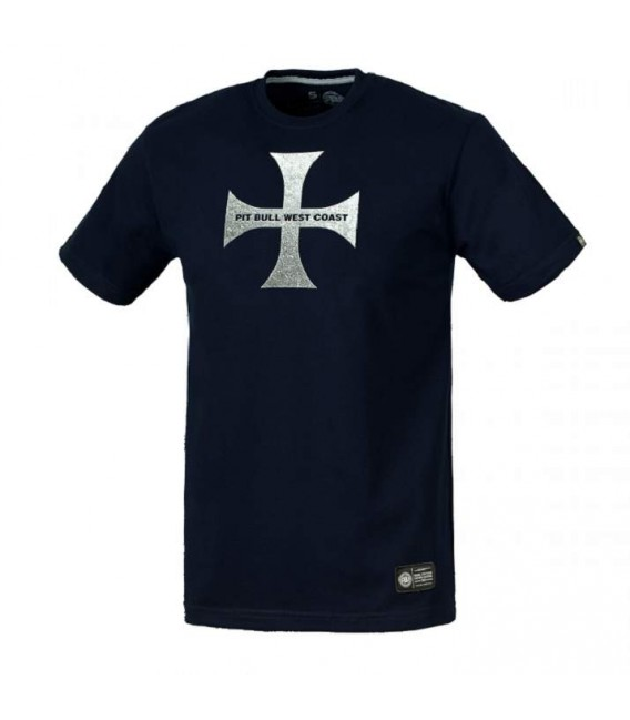 Koszulka Pit Bull West Coast model IHSV granatowa
