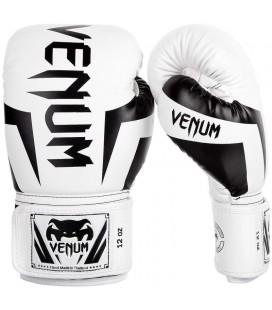 Rękawice bokserskie Venum Elite kolor biało czarne