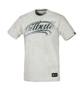 Koszulka Pit Bull West Coast model California Dog 17 szara melanż