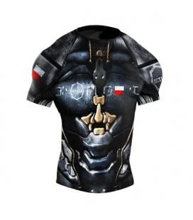 Rashguard Octagon model Cyborg krótki rękaw