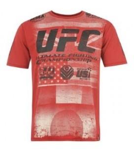 Koszulka UFC czerwona