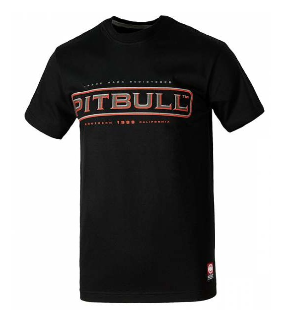 Koszulka Pit Bull West Coast model  Monroe 17 czarna