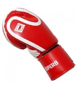 Rękawice bokserskie SUPERB  firmy Dragon kolor czerwony