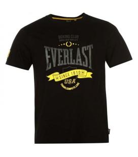 Koszulka Everlast typu t-shirt kolor  czarna