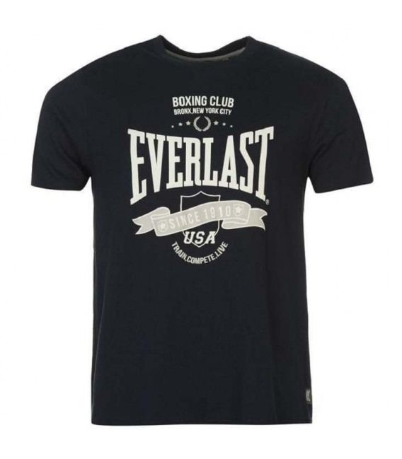 Koszulka klasyczna Everlast kolor granatowy