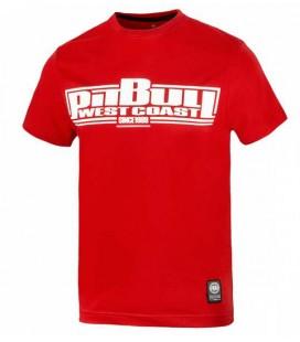 Koszulka Pit Bull West Coast CLASSIC BOXING 2017 czerwona