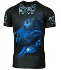 Rashguard Pit Bull  model  Blue Eyed Devil  X BED X krótki rękaw