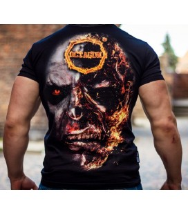 Koszulka Octagon model In Fire czarna + gratis