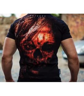 Koszulka Octagon model Evil czarna + gratis