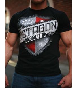 Koszulka Octagon model Shield czarna + gratis