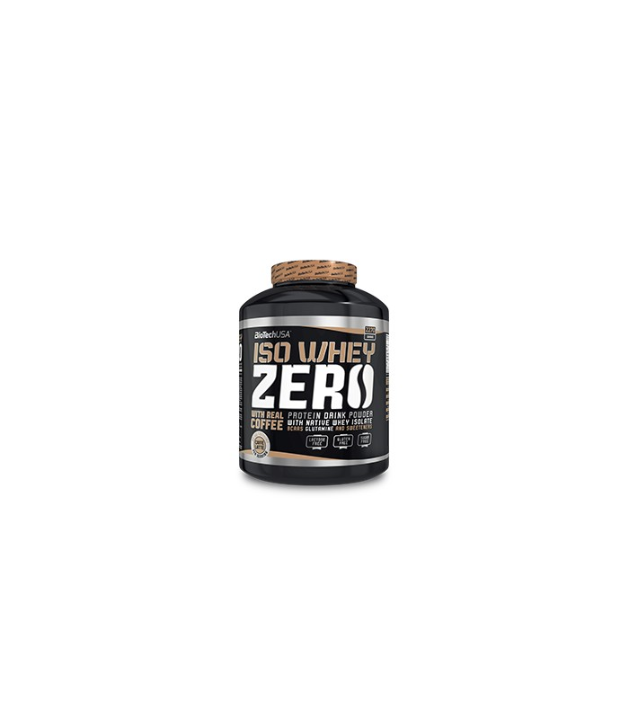 Iso Whey Zero Białko Z Kofeiną