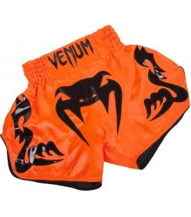 "Spodenki Venum Muay Thai model ""Bangkok Inferno"" pomarańczowe"