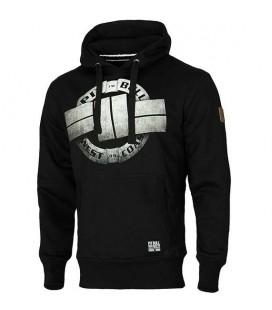 Bluza Pit Bull z kapturem  Steel Logo 17 czarna