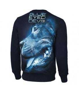 Bluza Pit Bull model BLUE EYED DEVIL X granatowa