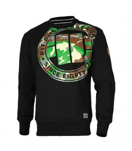 Bluza crewneck Pit Bull West Coast  model Urban Camo