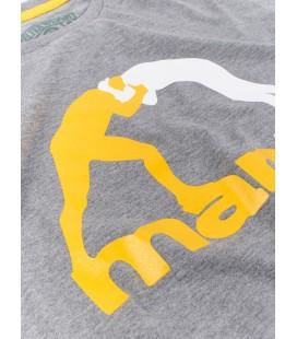 Koszulka Manto model Classic szary melanż