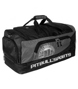Torba sportowa Pit Bull model Sports II czarno szara