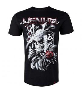 Koszulka Venum model Samurai Skull czarna