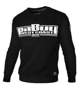 Bluza crewneck Pit Bull model Boxing 17 czarna