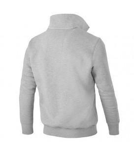 Bluza Pit Bull bez kaptura rozpinana 1/2 Small Logo kolor szary melanż