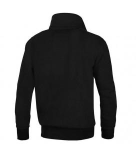 Bluza Pit Bull z kołnierzem rozpinana Small Logo 17 kolor czarny