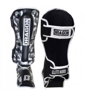 Ochraniacz na goleń i stopę  Dragon model Elite Moro czarno białe