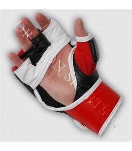 Rękawice chwytne Grappling  MMA  firmy Dragon skórzane