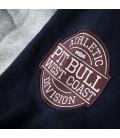 Bluza rozpinana z kapturem Athletic kolor szary / granatowy