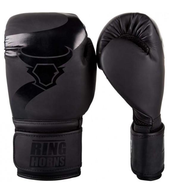 Rękawice bokserskie marki RINGHORNS model Charger kolor czarno czarny