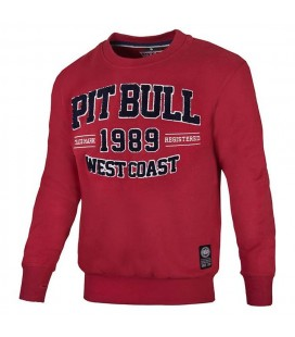 Bluza PIT BULL model Ragweed  kolor bordo mmaxtreme