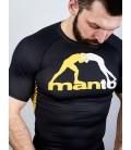 Rashguard Manto model Logo krótki rękaw czarny