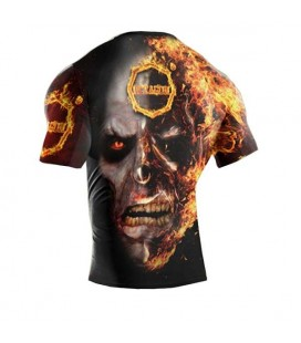 Rashguard Octagon model In Fire krótki rękaw