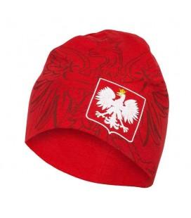 Czapka Octagon model Polska czerwona