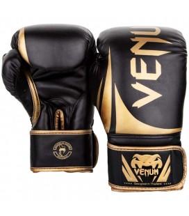 Rękawice do boksu Venum Challenger black gold