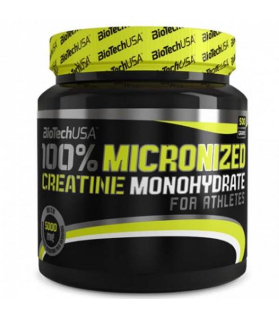 Biotech 100% Micronized creatine Monoydrate 500g