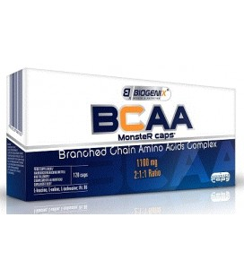 BCAA Biogenix Monster caps  blister 30 kaps.