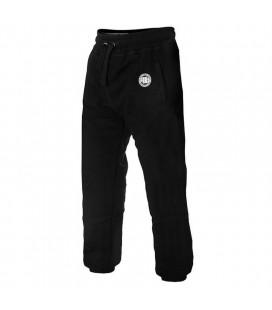 Spodnie dresowe Pit Bull  model LOGO 2017 czarne