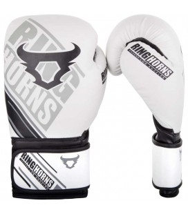 Rękawice do boksu marki RINGHORNS model NITRO białe