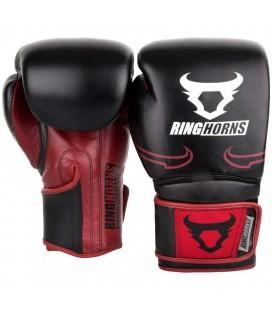 Rękawice bokserskie Ringhorns model Destroyer - skóra naturalna