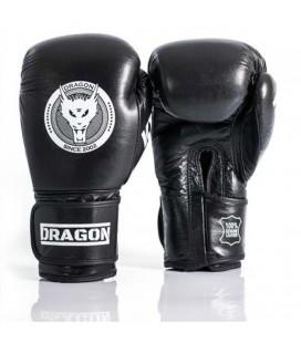 Rękawice bokserskie  Dragon model King skóra naturalna