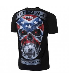 Koszulka PitBull West Coast model Rebel Skull 18