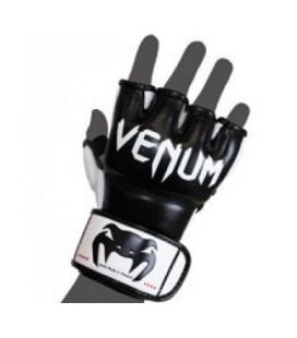 "Venum ""Undisputed"" rękawice MMA - Nappa Skóra - Czarne"