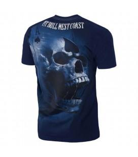 Koszulka Pit Bull model Ace of Spades 18 granatowa